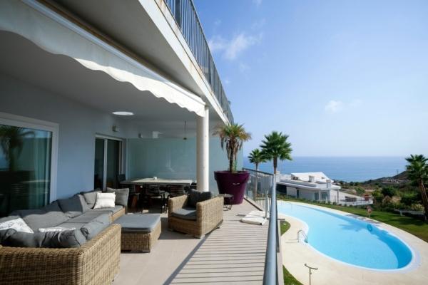 3 Bedroom, 2 Bathroom Apartment For Sale in South Beach, Reserva del Higueron, Benalmadena